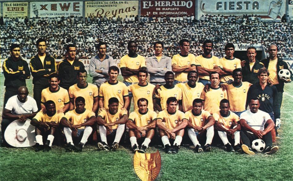 Brazilië wereldkampioen 1970
