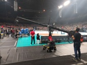 Hollywoodcamera voor volleybal